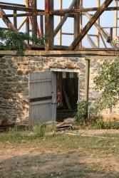 Masonry Repairs to Bank Barn Near Dickerson, MD