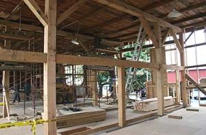 New Bent of Sawn Oak Timbers