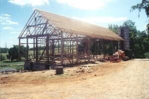 New Roof Framing Installation