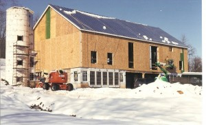 Standing Seam Roof Installed