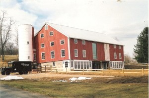 Completed Conversion Of a Bank Barn Into a School