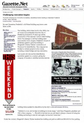 Gazette.net Article, July 10, 2008.