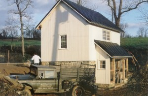Home Nearing Completion -- Standing Seam Roof Installed by FHTC as Well
