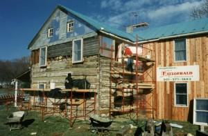 Restoring damaged logs in the original log structure.