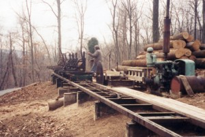 Our early 20th century sawmill for all eras of historic projects.