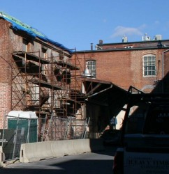 Frederick's Historic Preservation Commission unanimously approved plans to rehabilitate the three-level former warehouse.