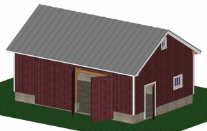 Complete Design Model for a New Timberframe Structure