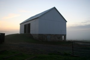 Barn Restoration Near Frederick, MD -- Repairs Complete, Ready for New Doors