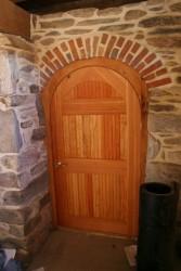 Custom Made Arch Door