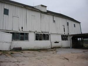 18th Century Bank Barn Before Repairs and Home Conversion -- Barnyard Side