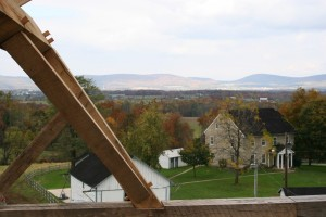 From High in the Framing -- the Amazing View This Home Will Command