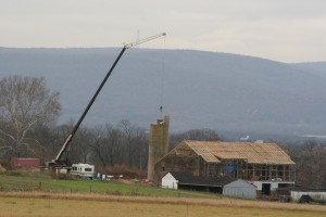 Roof Complete -- Shortening the Silo by 16'