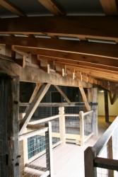 Catwalk Below New Dormer Connects Living Spaces in the New Upper Floor