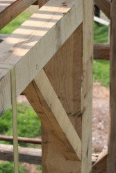 New Timbers and Traditional Joinery Fit Perfectly Into the Original Frame