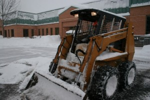 Skid Steer Loaders Are Manuverable and Versatile Snow Removal Machines