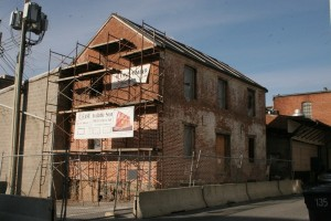 Downtown Frederick Warehouse Building In Process of Conversion To Office Space