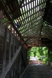 Kingpost Truss Framing -- Roof Repairs Under Way