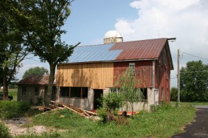 Barn Restored and Ready for New Use
