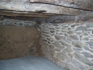 Foundation Repaired and Repointed -- New Sills -- Crawlspace Excavated and Slab Installed