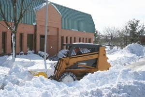Our clients, doctors' offices and medical facilities, asked us to clear every parking space...