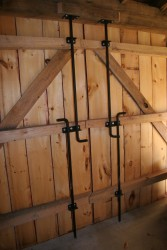 We Fabricate and Install Custom Heavy-Duty Cane Bolt Latches to Provide Substantial Security