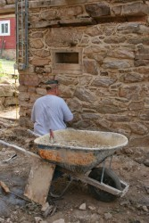 Repointing Stone Foundation