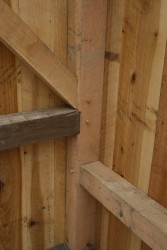 Original Timbers are Reused Where Possible
