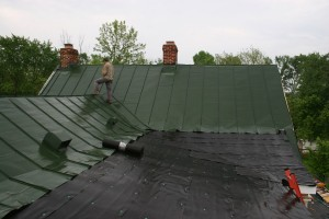Old Roofing Is Worn Out and New Porches Will Require Complicated Valley Construction