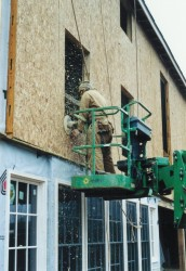 Routing Out Window Opening In Wall SIP