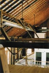 Interior Nearing Completion -- HVAC, Lights, Fans Installed