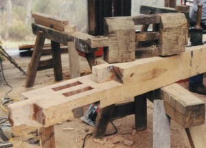 Complex Scarf Joint Copied From Original