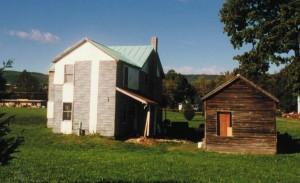 Dr. Humerick's Cabin Before Restoration