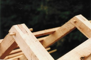 New Rafter Joinery Matches the Original