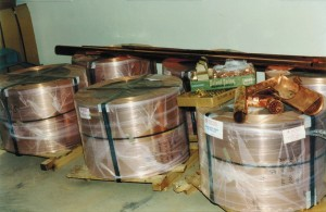 Our Roofs Begin as Rolls Of Sheet Metal -- Bulk Purchasing Makes These Roofs More Cost-Efficient