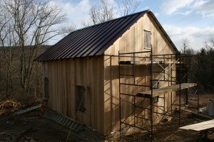Siding Nearing Completion