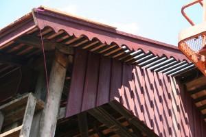 New trim to replicate old decorative rake boards.