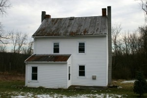 As we started this appeared to be a ramshackle small farmhouse on its last legs.