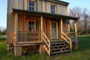 Front Porch With New Door
