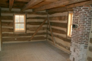 Opposite view of sitting room.  The house also features a new electrical system.