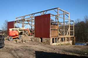 Primary Framing Repairs Nearly Complete