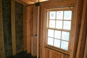 Modern framing, windows, and plumbing will make the home much more livable.