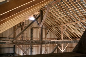 Artistry and Craftsmanship Come Together in the Repaired Roof Framing