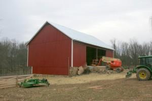 A New Set of Barn Bridge Doors Will Complete the Restoration