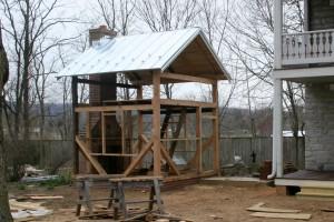New Galvanized Standing Seam Roof