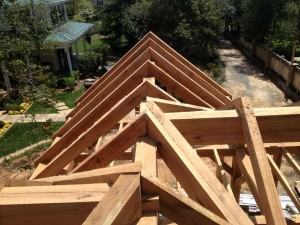 Front Gable -- View to South