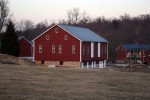 1860 Bank Barn Conversion to Woodworking Studio