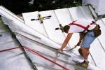 Standing Seam Terne Metal Roof Installation