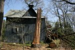 Victorian Carriage Barn Crushed by Falling Tree, Rebuilt and Back in Use